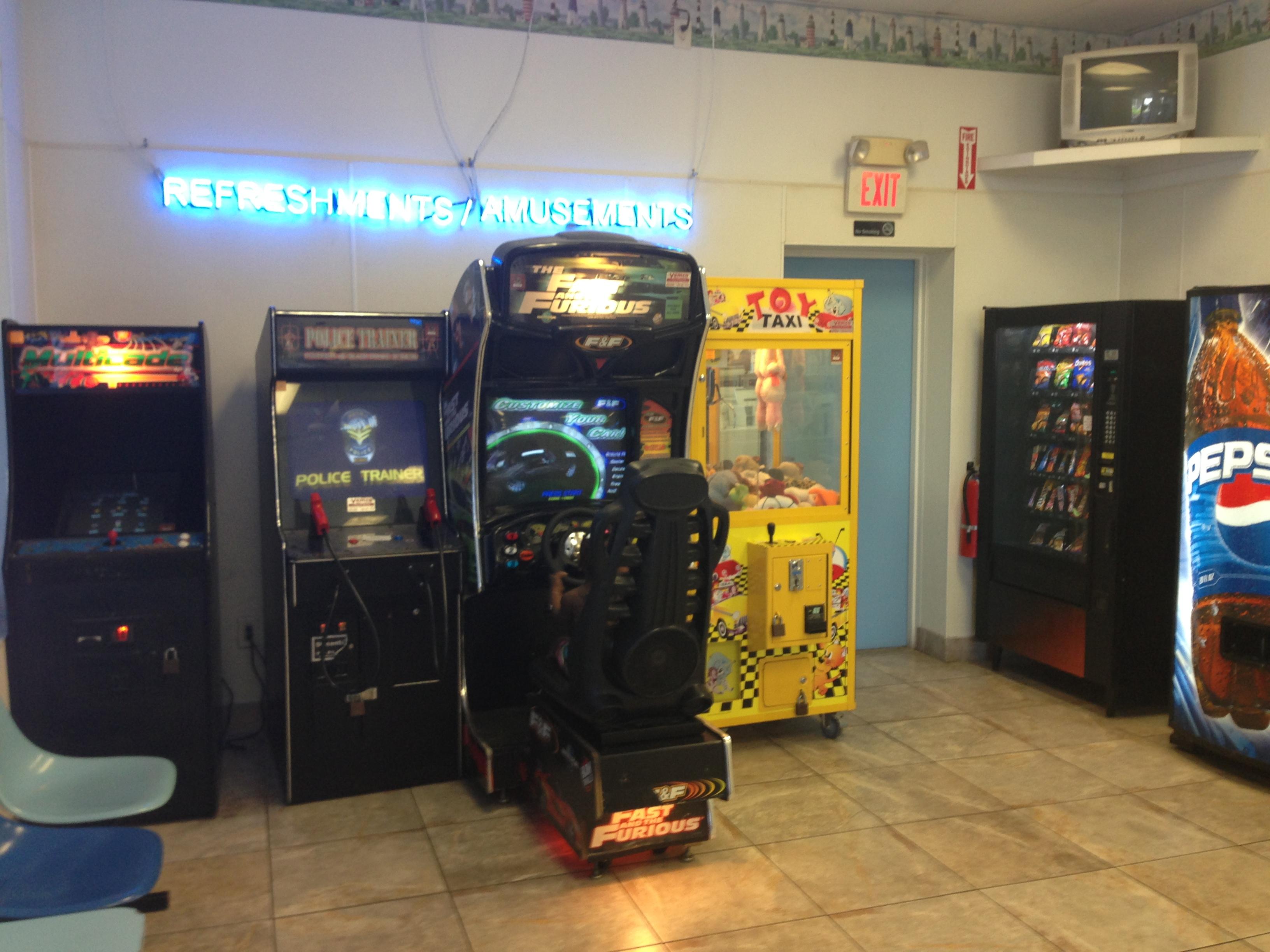 Arcade North Myrtle Beach Sc