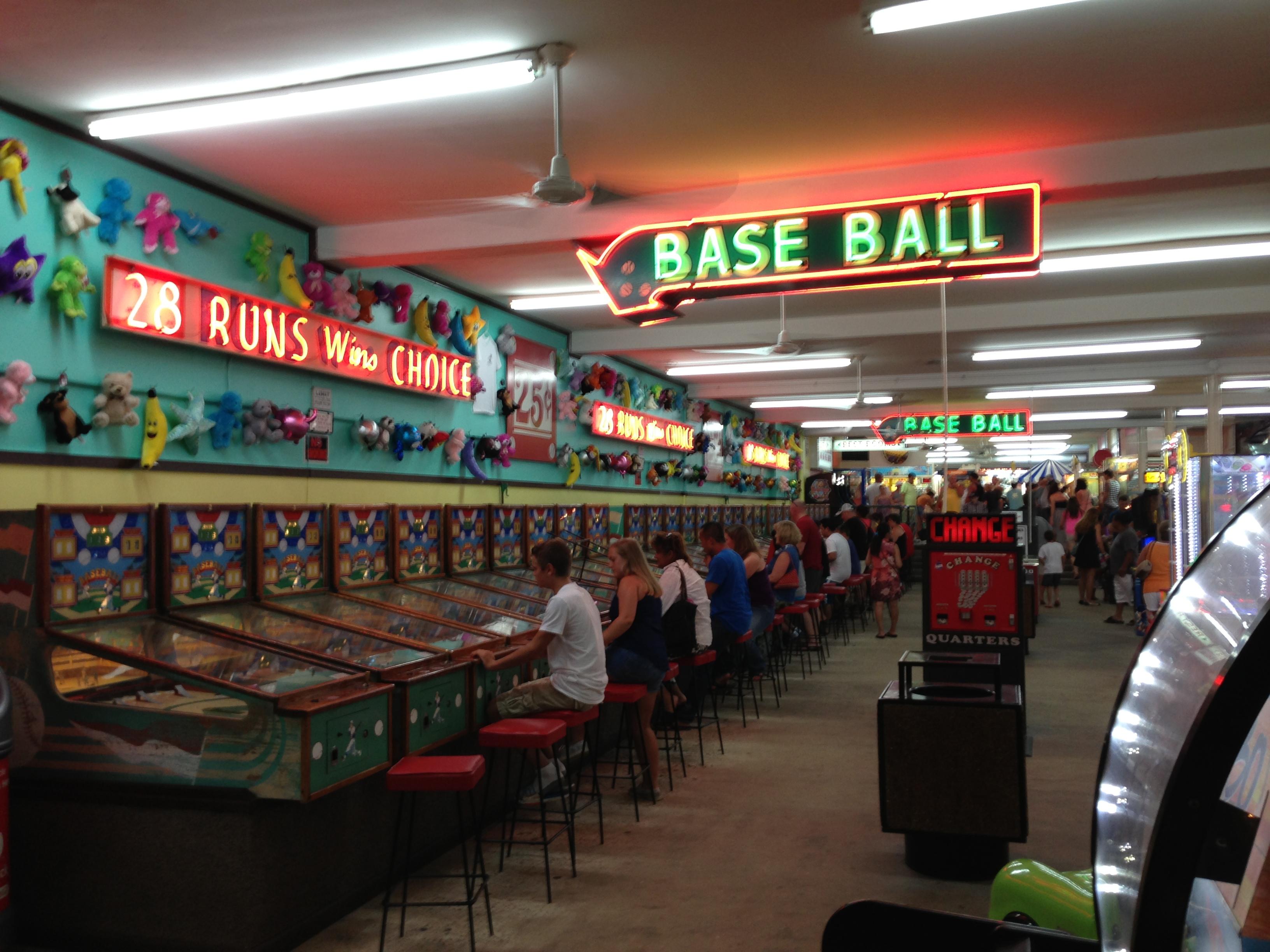 Myrtle Beach Arcade Games