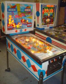 old pinball machines
