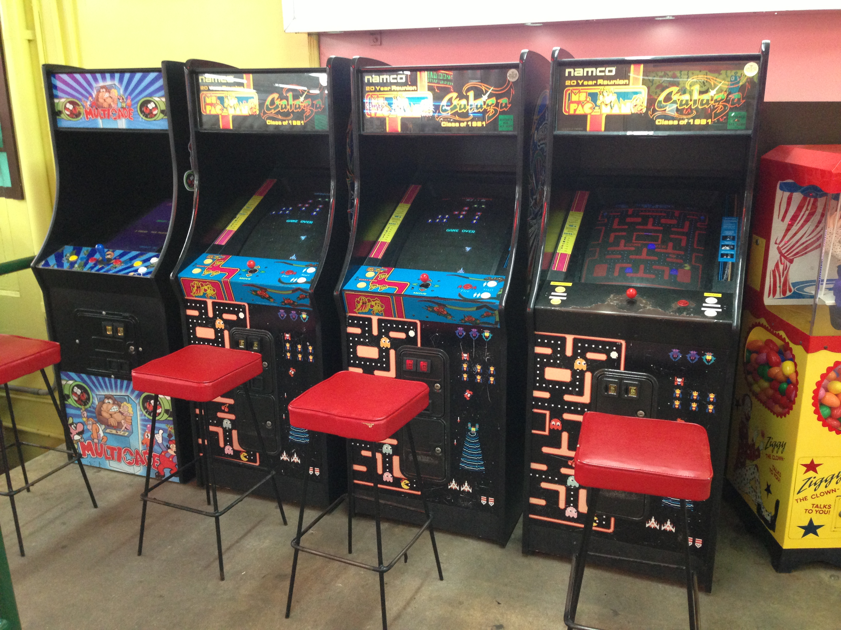 Classic 80s Arcade Video Games