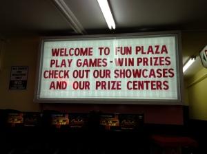Arcade redemption prizes