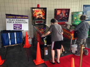 Myrtle Beach Play Pinball for a Donation