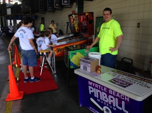 Myrtle Beach Pinball Awareness Charity Campain